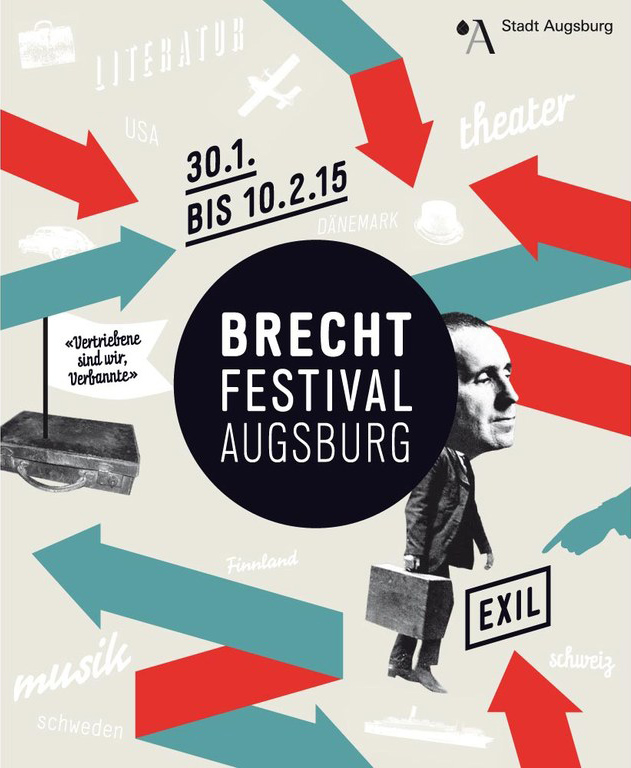 Brecht Festival Augsburg Februar 2015